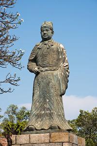 Zheng Chenggong (Koxinga) statue, Anping Fort (Fort Zeelandia), Tainan, Taiwan
