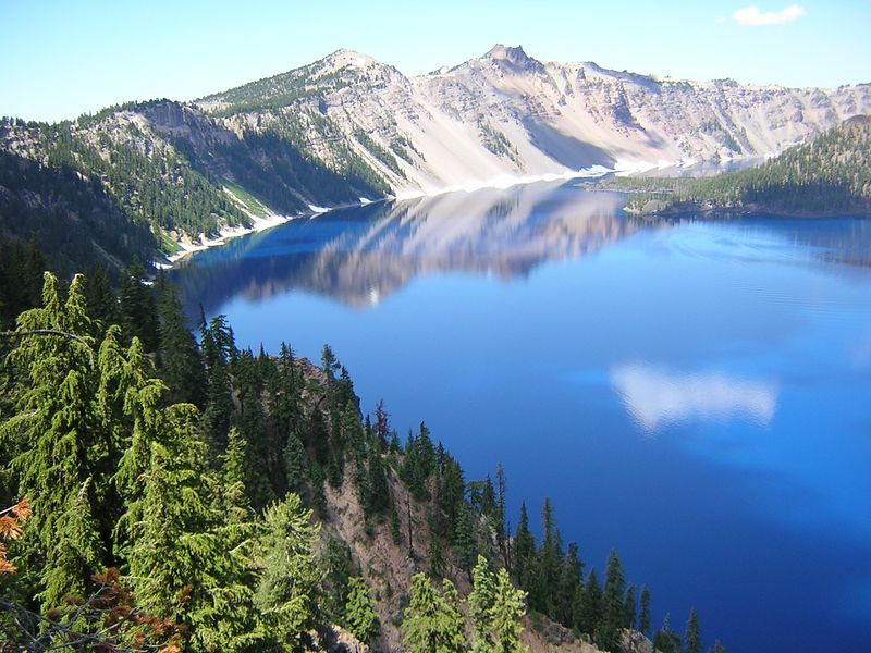 This is from my trip to Crater Lake last summer.