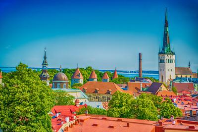 Overlooking Tallinn