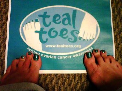 Teal Toes for Elliot!! We LOVE you!