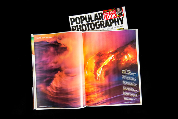 "Popular Photography - October 2013 - ""Your Best Photo"" - 1st Place, 2 page spread (pages 32-33)"