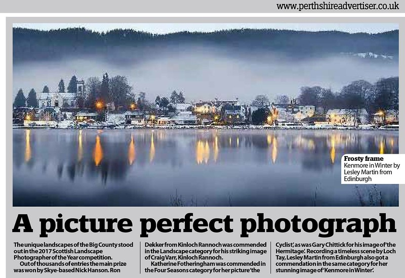 Kenmore in Winter - Scottish Landscape Photography of the Year