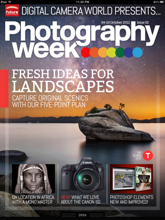 Photography Week - October 2012 - Cover