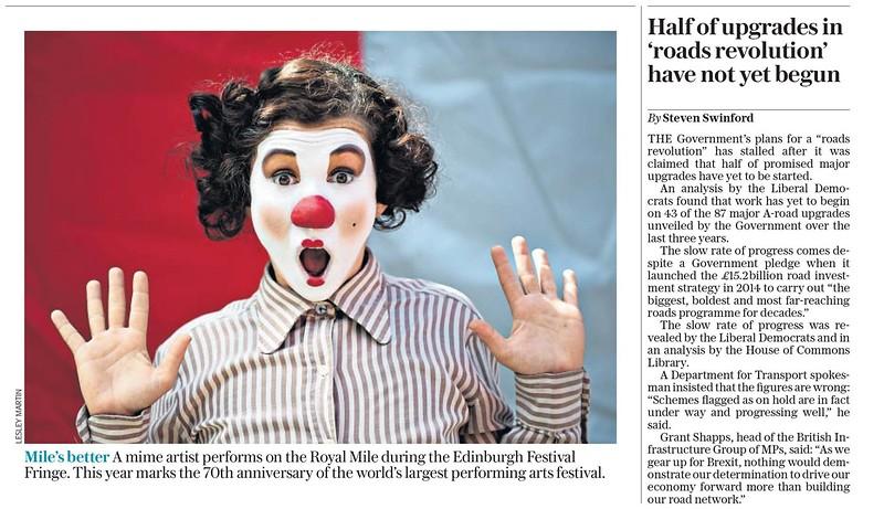 Edinburgh Festival 2017 - The Daily Telegraph
