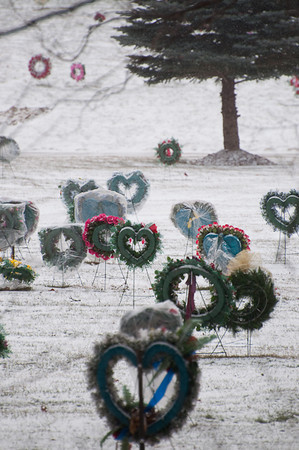 I took this from in Sherwood Park at 300 mm.  The cemetery was full of these.