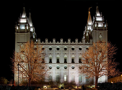 Salt Lake Temple from the south