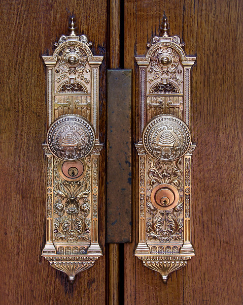 Salt Lake Temple doors
