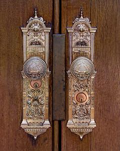 Salt Lake Temple doors