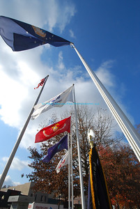 I was pleased to photograph the 2nd Annual Veterans Day Parade in Ripley, West Virginia, along with the other Veterans' recognitions in the town and county.  This was taken at the Courthouse Memorial.