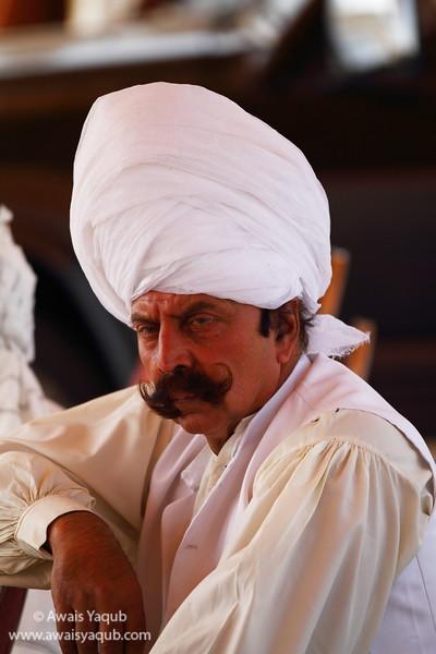 Prince of Fateh Jang, Malik atta. Turban signifies dignity