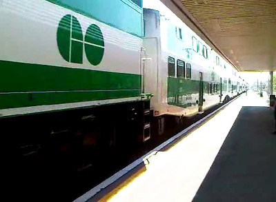 GO Train Test video