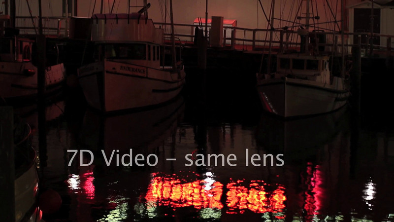 "How good is the 7D video versus <a href=""http://cmac.smugmug.com/Photography/Paris-and-San-Franciso-videos/6677452_e9rL5#427227023_AsXNo"">similar clips from the 5D MKII</a>?"