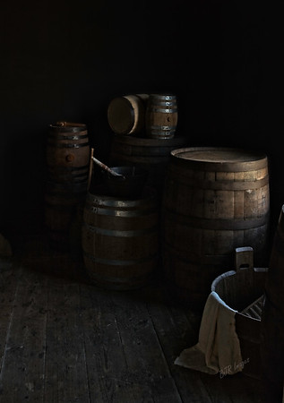 Barrels in the Fanthorp Inn