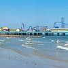 Pleasure Pier in Galveston, Texas