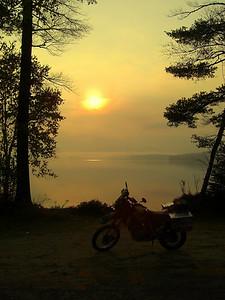 Upper Saranac Lake, dawn, oct 6, 2007aCIMG0572a