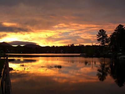Lake Flower, dawn, oct 9, 2007aCimg0710-1