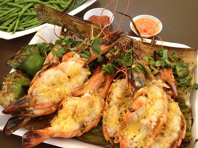 Tiger Prawns - East Coast  Lagoon Food Court, Singapore