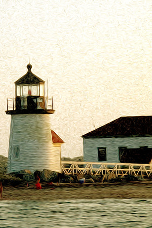 Lighthouse at Nantuket