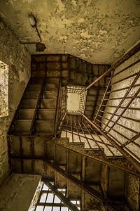 trans-Alllegheny Lunatic Asylum stairs