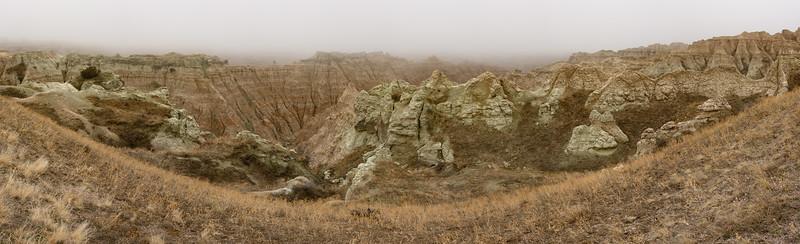 South Dakota, Badlands
