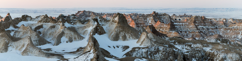After the storm in the South Dakota Badlands