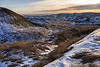 Winter time in the South Dakota Badlands
