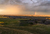 Rainbow in the South Dakota Badlands