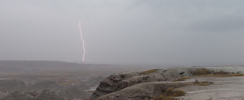 Badlands Lightning