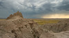 Badlands storm