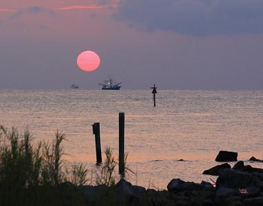 Sunrise (west end) 2012