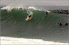 Big waves at the Wedge