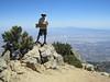On Cucamonga Peak.
