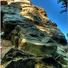 The Big Pinnacle of Pilot Mountain cliff