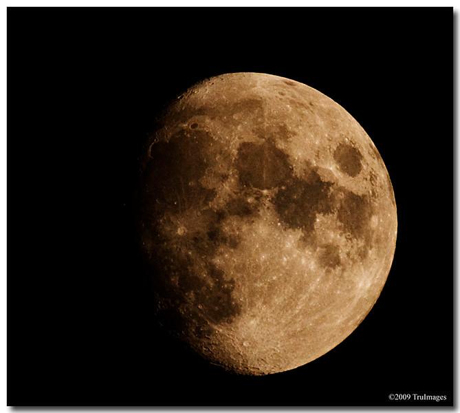 La Luna @ 500mm!