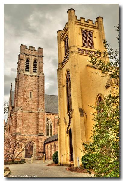 Chapel of the Cross <br /> Chapel HIll Nc<br /> Built 1843