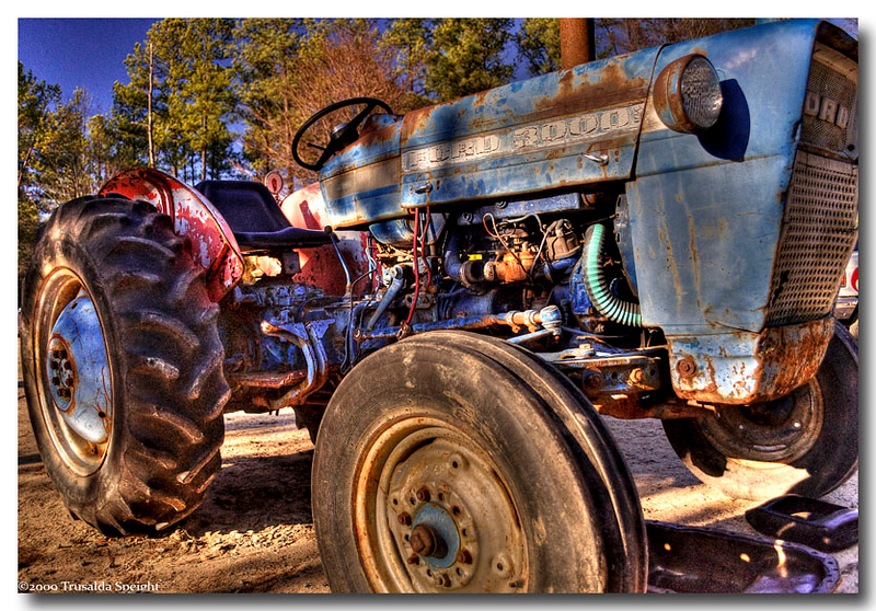 Not architecture but a Ford 3000 Tractor 1965-1975