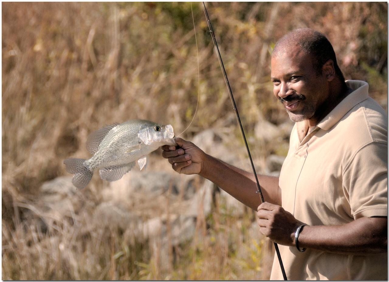 Nov 21<br /> The proud fisherman