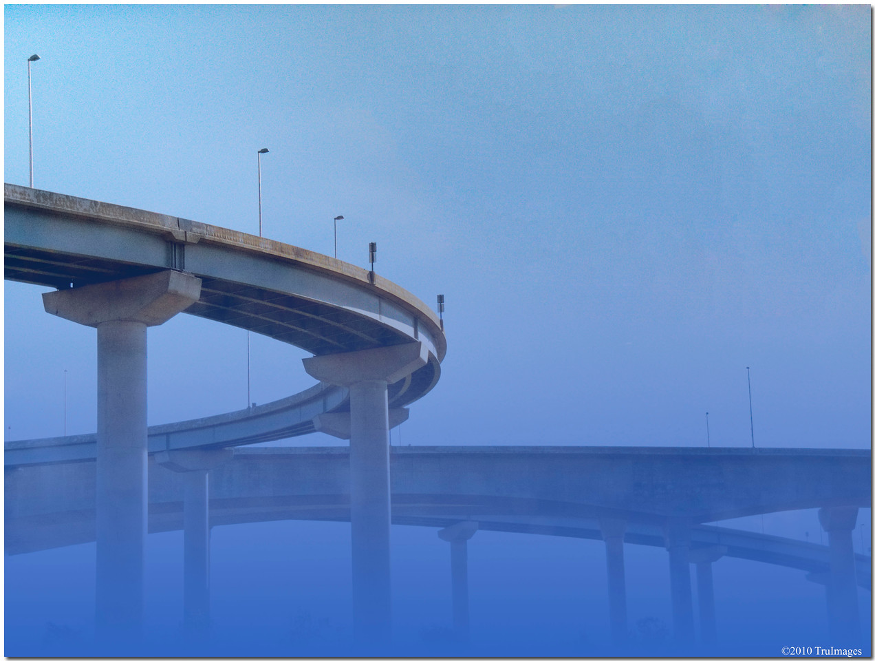October 25<br /> Bridges in the mist