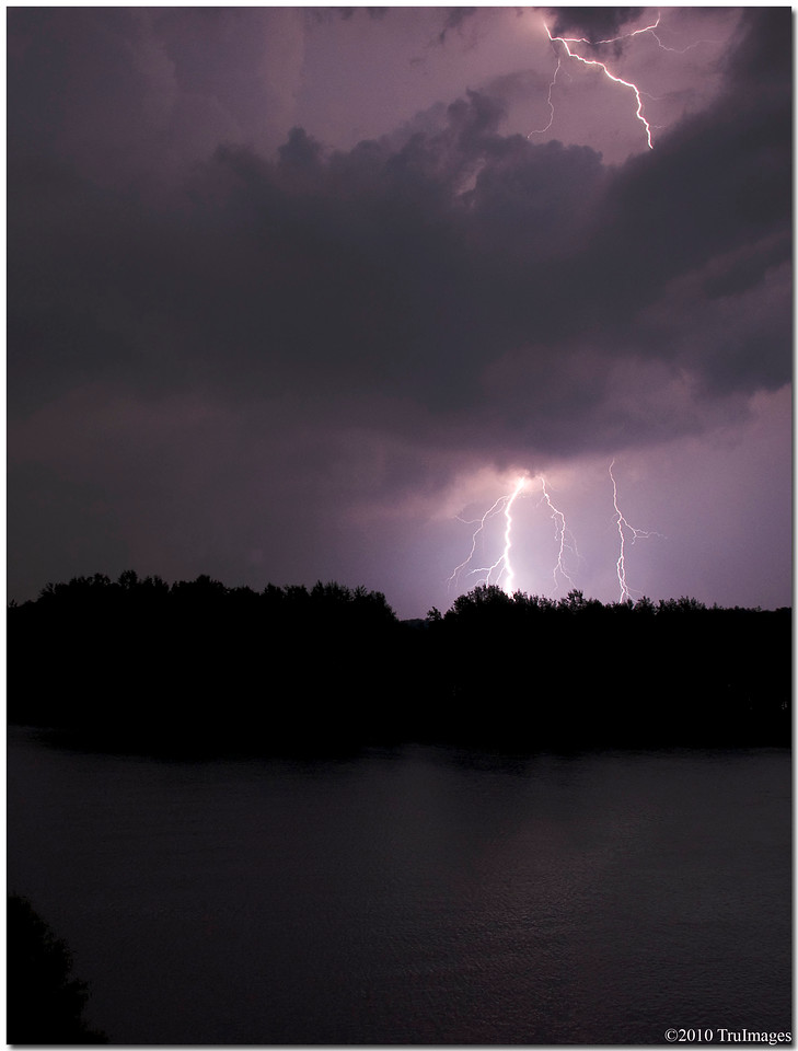 July 10<br /> Midnight thunderstorm at Jordan Lake