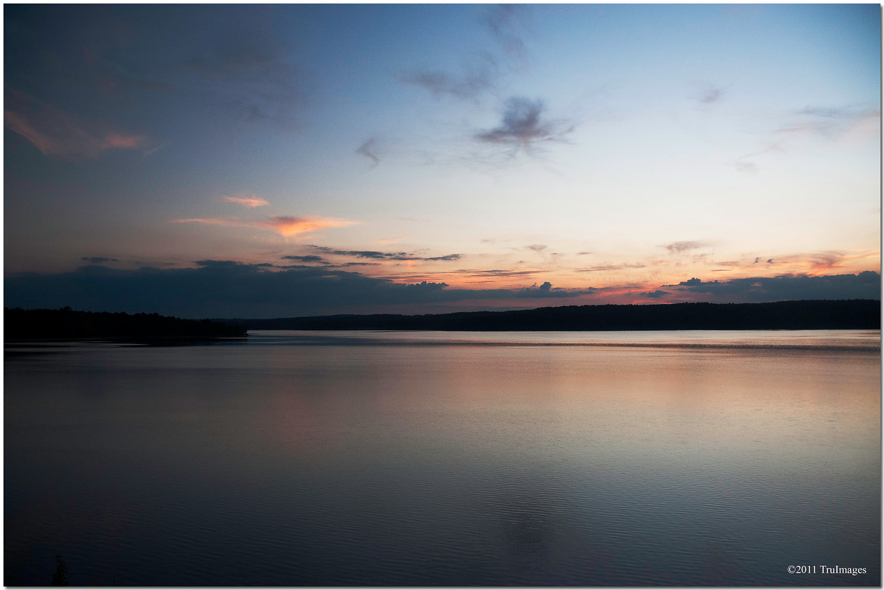 Sept 8<br /> Sunset at Jordan Lake