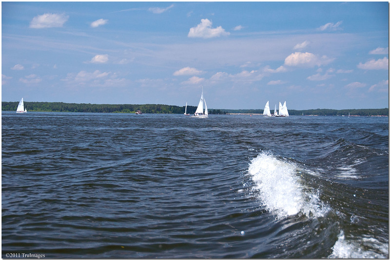 May 21<br /> Sailboats in our wake