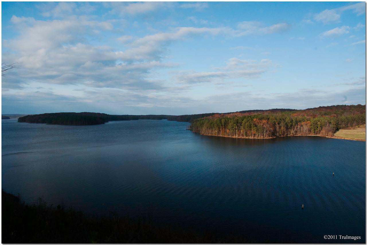 Nov 20<br /> A serene Jordan Lake