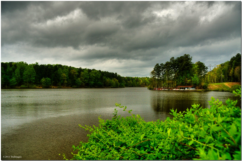 Apr 16<br /> Angry skies <br /> 3 hours before historic tornado outbreak in NC