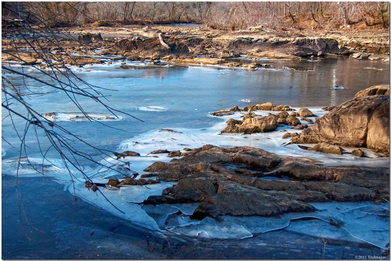 Jan 23<br /> Ice river