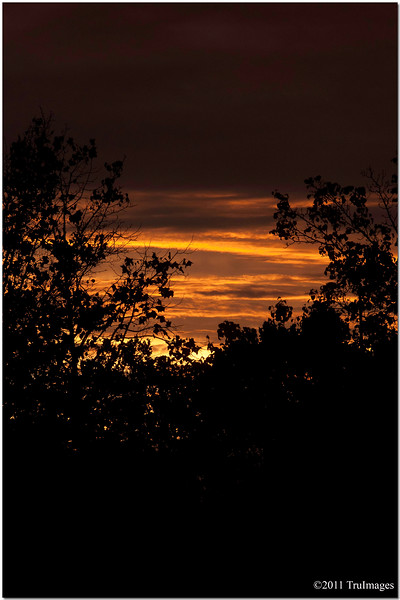 Sept 6<br /> Sunset after Tropical depression Lee passed through, producing another tornado event in NC