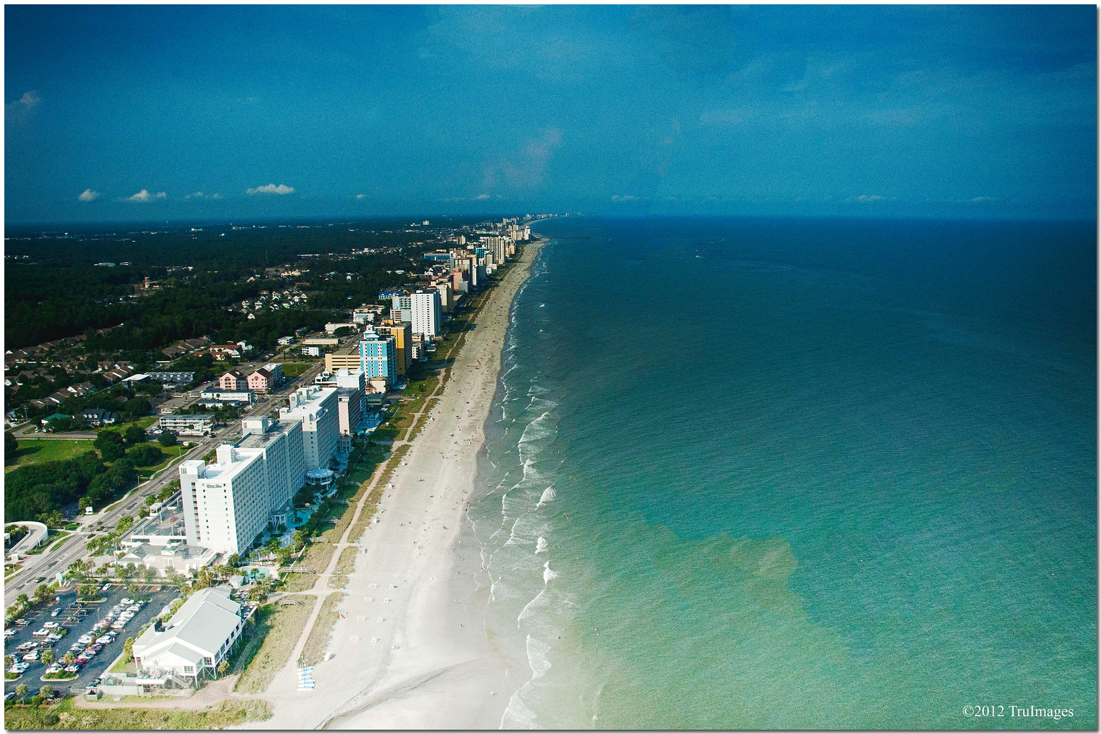 Aug 24 <br /> urban coastline<br /> <br /> Another view from our Myrtle beach helicopter ride. These turned out much better than expected.