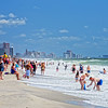 "Aug 30<br /> Last days of Summer fun<br /> <br /> Since this weekend marks the ""unofficial"" end of summer and Labor day weekend in the U.S, I thought a beach scene was in order.  This will be a common scene along the US coastlines this weekend!  Hope everyone has an enjoyable 3 day weekend!<br /> <br /> Happy Friday and thanks for viewing and commenting!!"