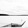 Dec 30<br /> Winter at Jordan Lake<br /> <br /> A deserted boat ramp waits for warm weather.