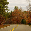 Nov 27<br /> The scenic route<br /> <br /> Abundant fall color on a country road.