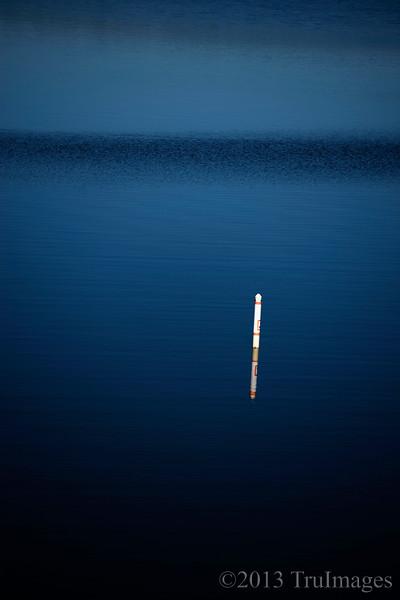 Dec 11<br /> Solitude<br /> <br /> A buoy and its reflection